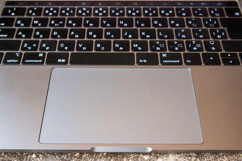 MacBook Proのトラックパッド