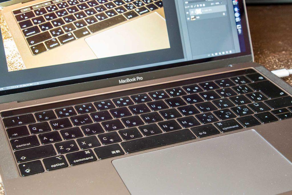 MacBook Pro 2018の写真