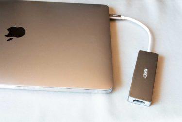 3,000円台でお手頃、USB-Cハブ「AUKEY CB-C72」レビュー
