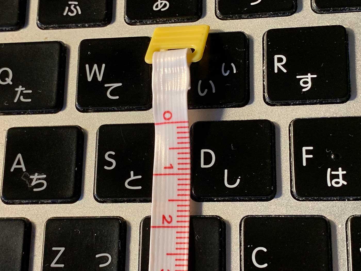 MacBookPro2015のキーボードアップ