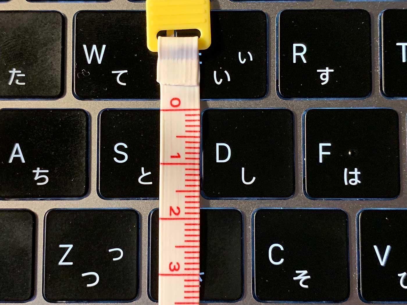 MacBookProのキーボードアップ