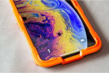 ガイド付きで真っ直ぐ貼れる!iPhone用の強化ガラス「Anker GlassGuard」レビュー
