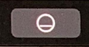 タッチバーのスリープボタン