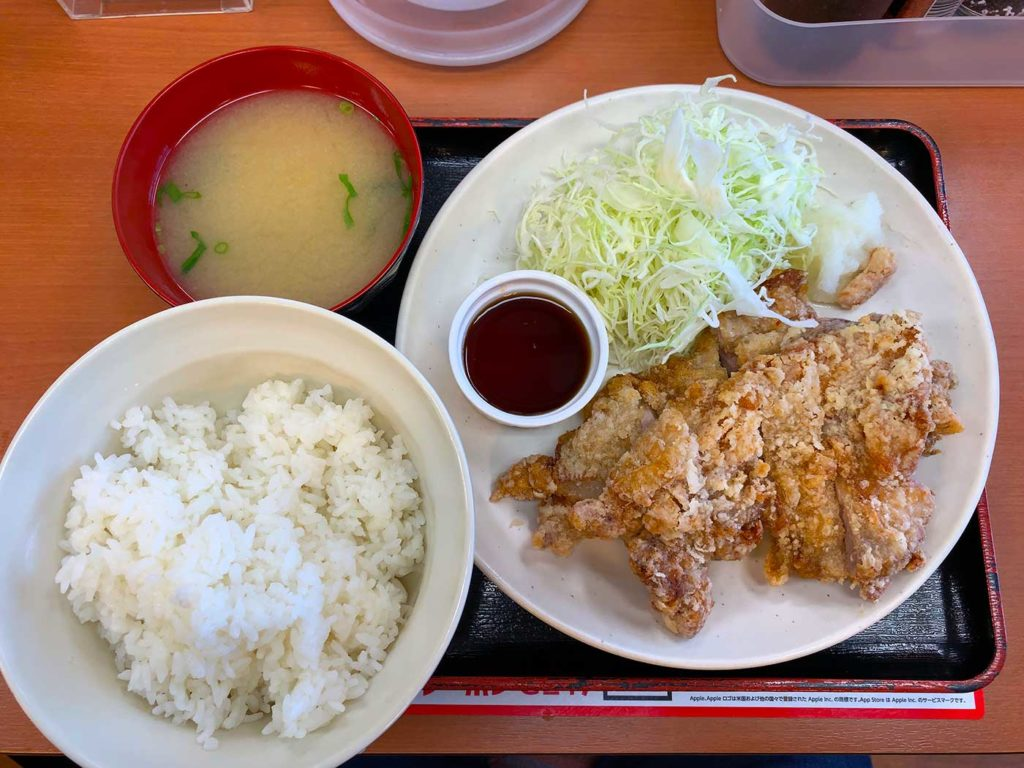 Sガストの若鶏竜田定食