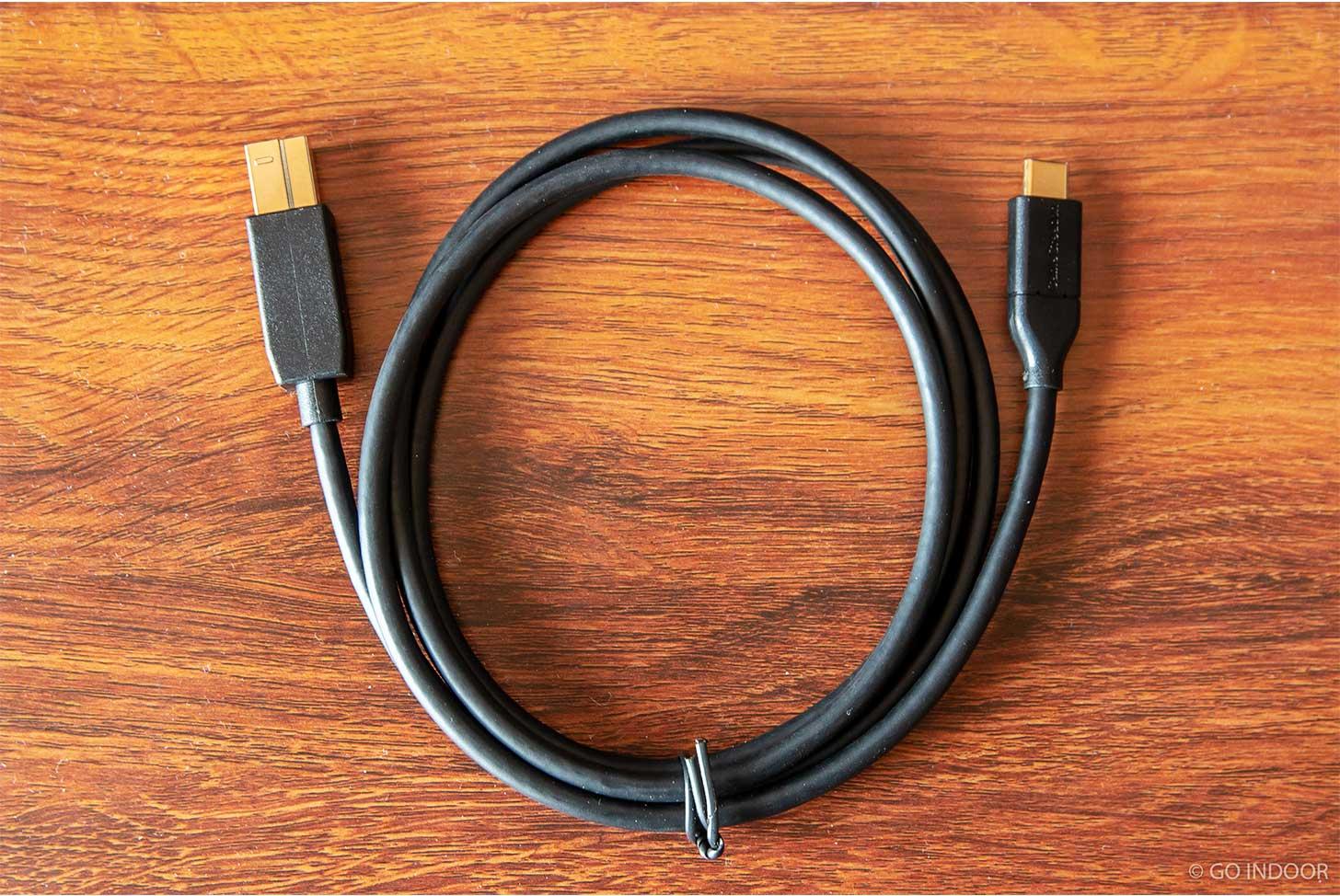 「USB-C - USB 3.0 Type B」ケーブルレビュー記事のアイキャッチ