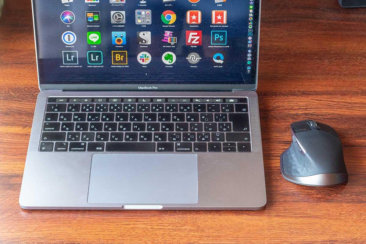 MacBookとMX Master