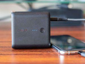 Anker PowerCore Fusion 5000レビュー記事のアイキャッチ