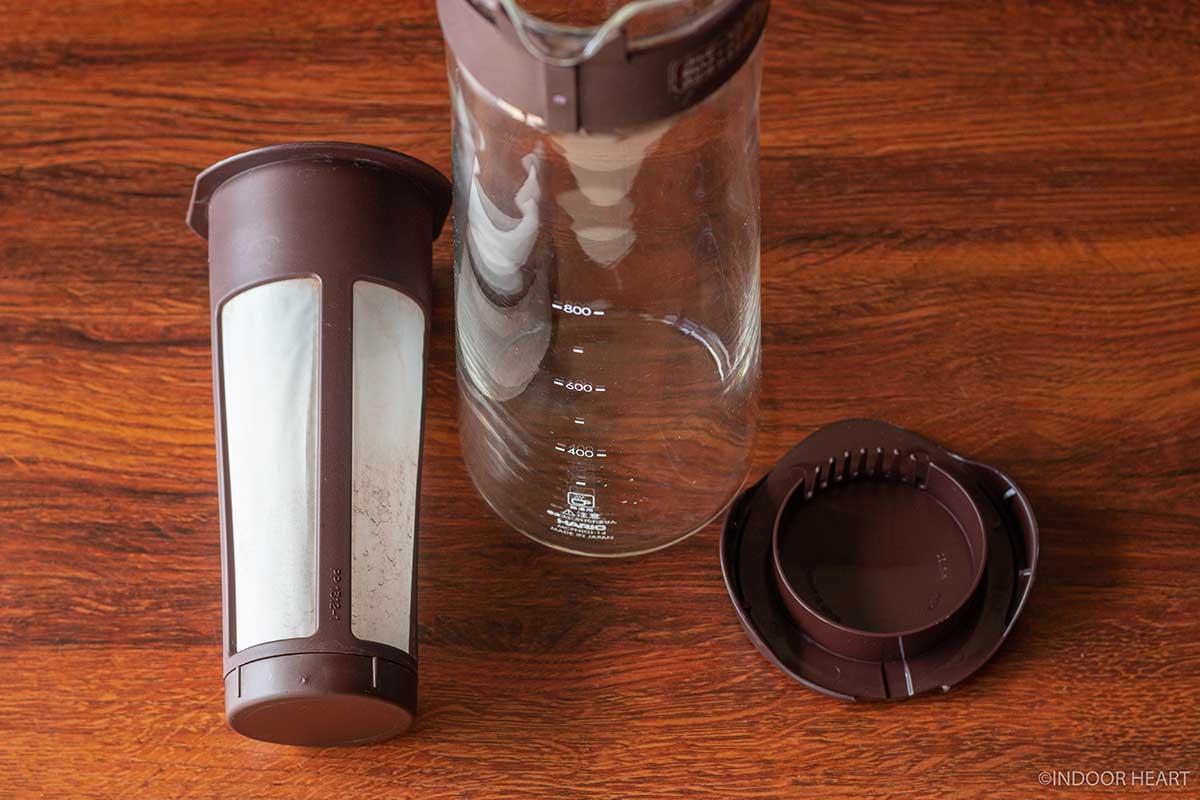 ハリオの水出しコーヒーポットのフィルター