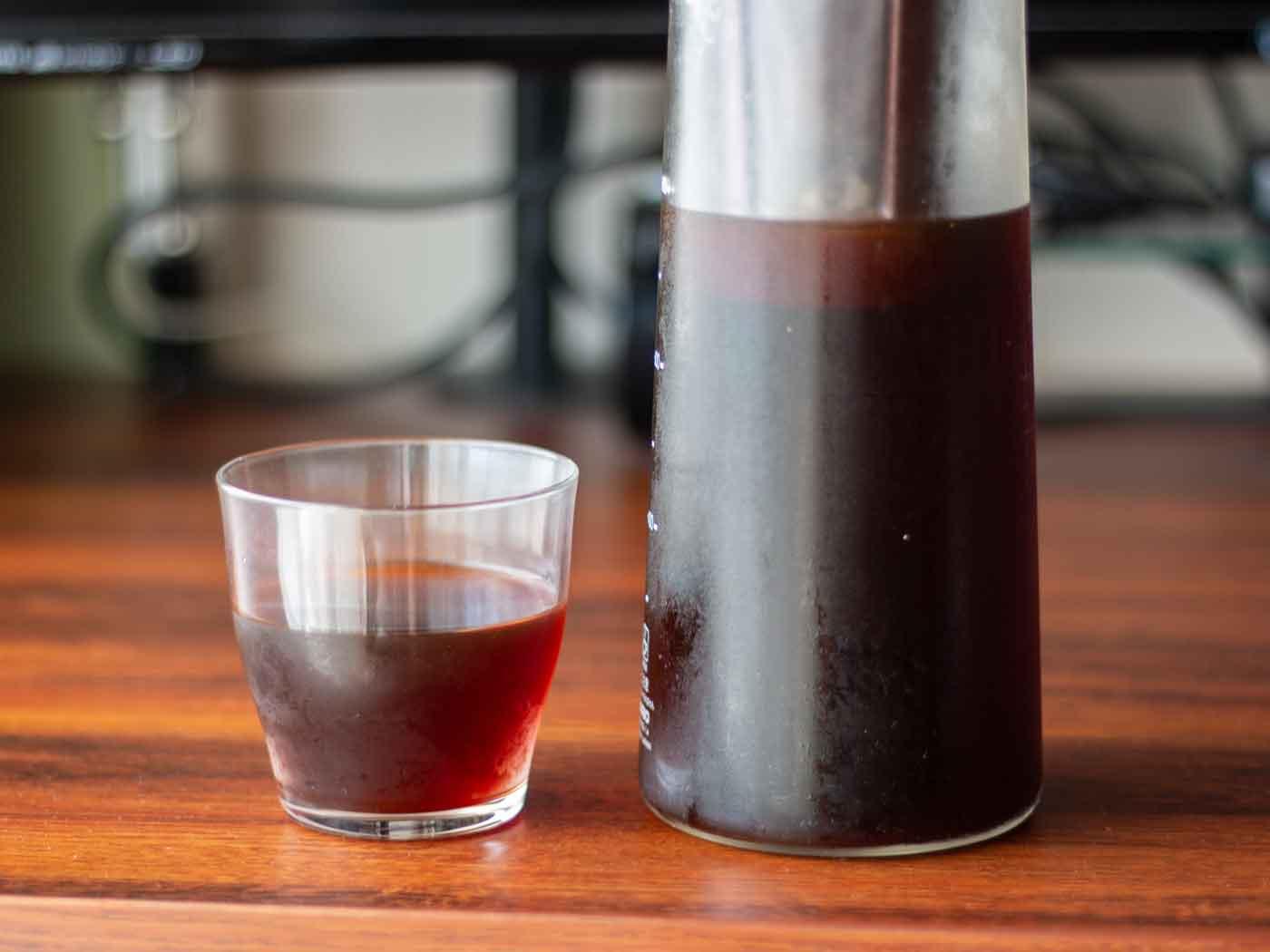 水出しコーヒーとポット