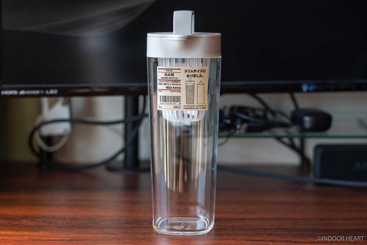 無印良品のアクリル冷水筒