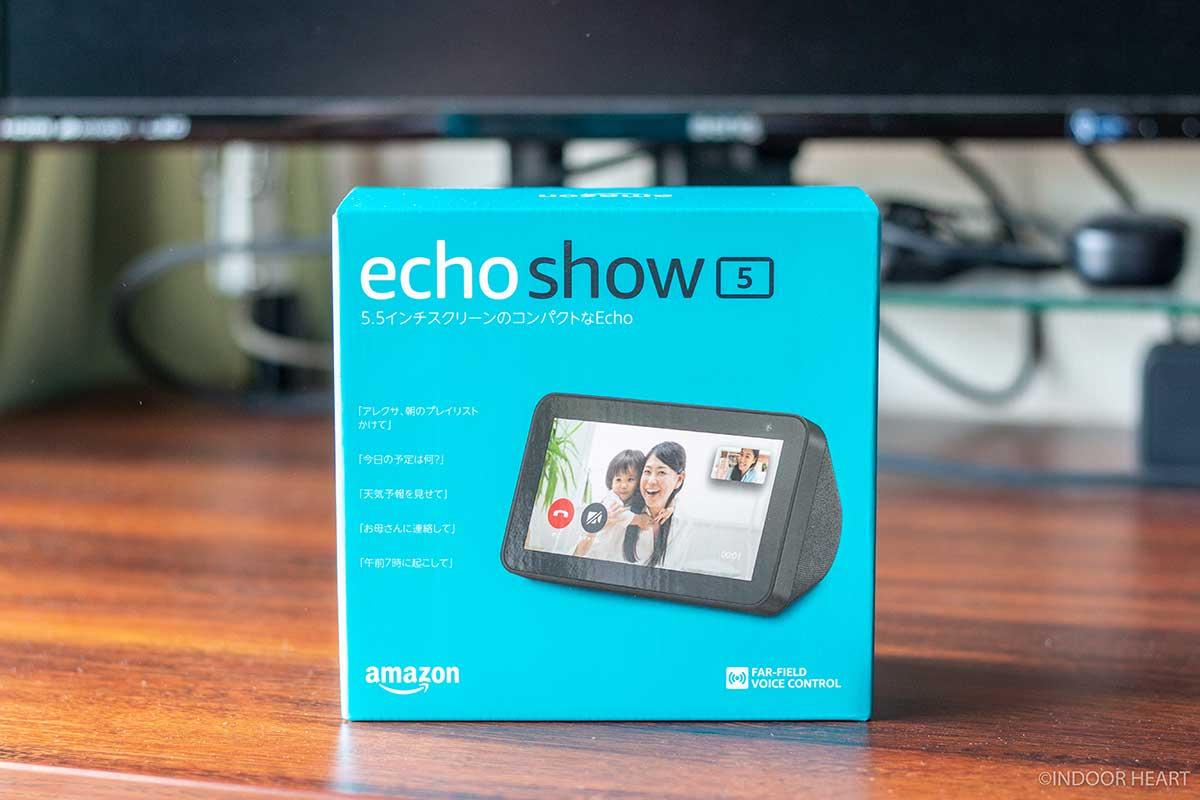 Echo Show 5の外箱