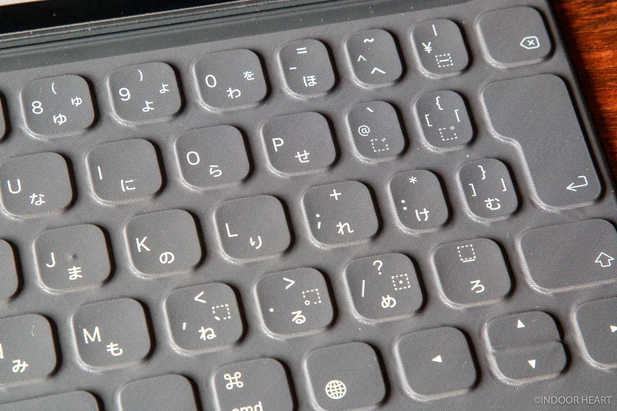 スマートキーボードのキーボード部分