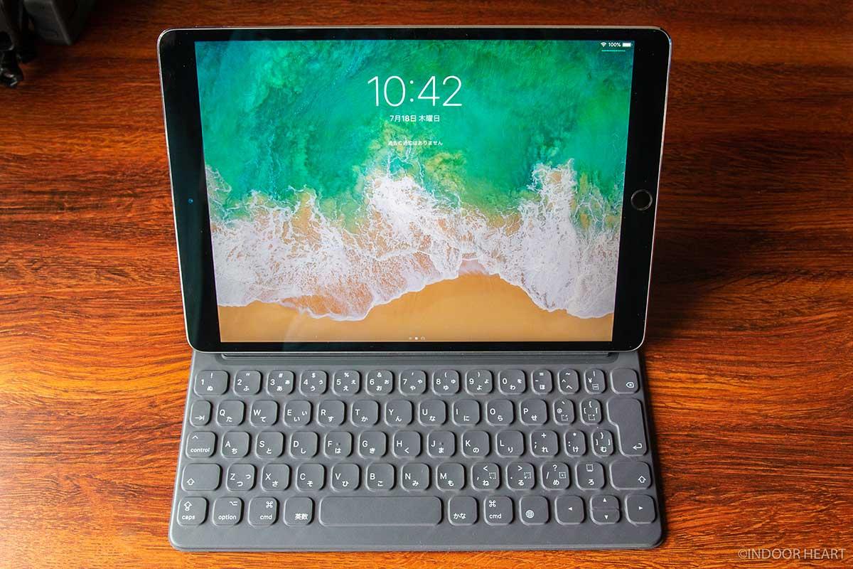 iPadとスマートキーボードの組み合わせ