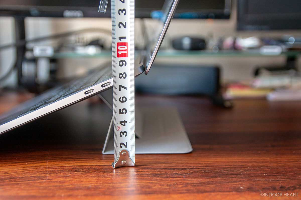 ノートPCを8cm上げるスタンド