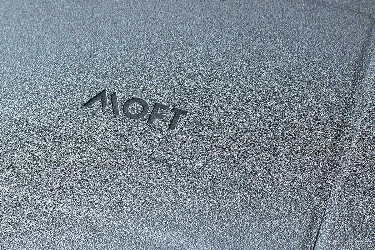 MOFTの表面の質感