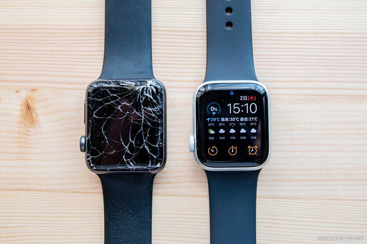 新旧Apple Watch