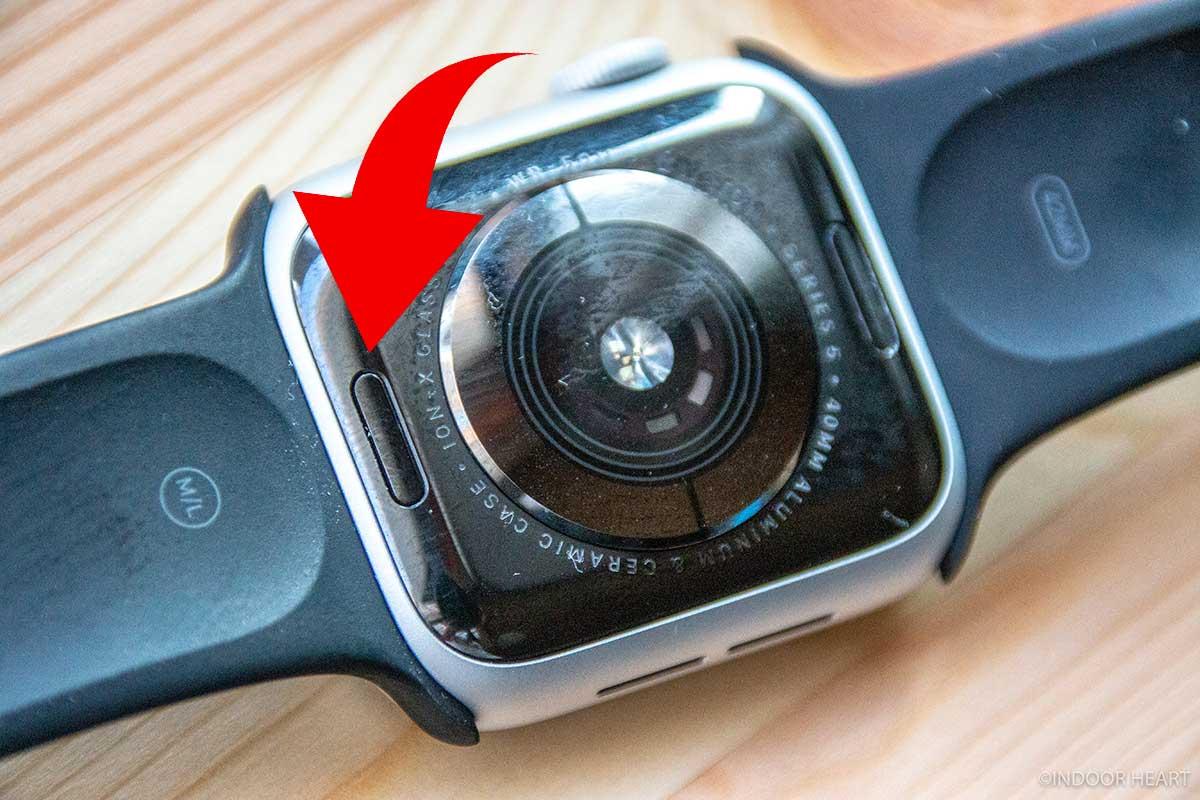 Apple Watchのバンドのツメ