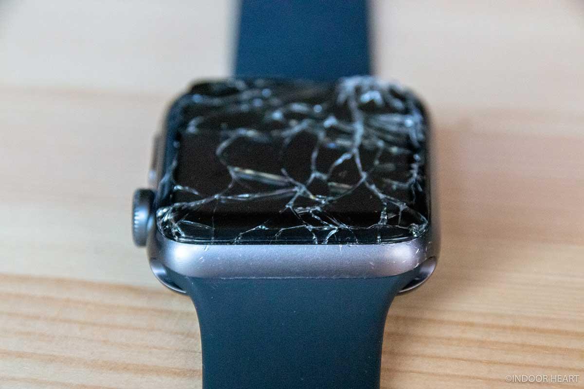 Apple Watchのバンド取り付け部分