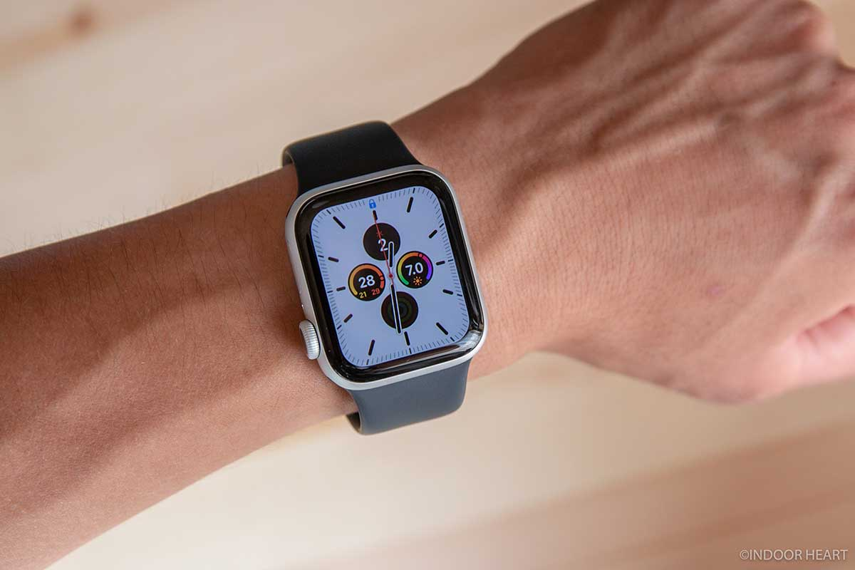 Apple Watch Series 5装着時