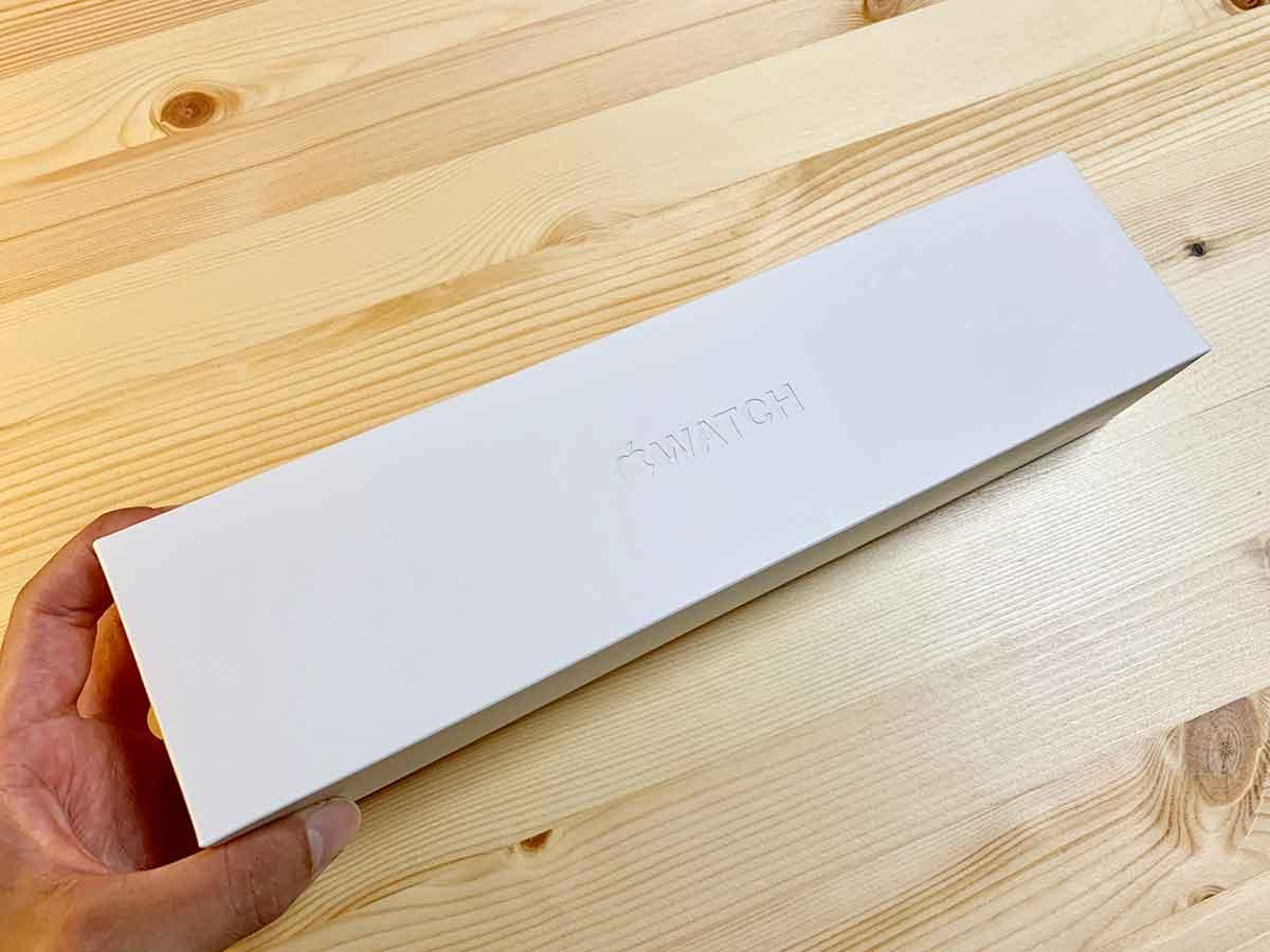 Apple Watchの箱