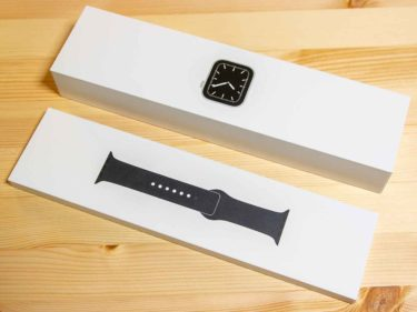 Apple Watch本体とバンド