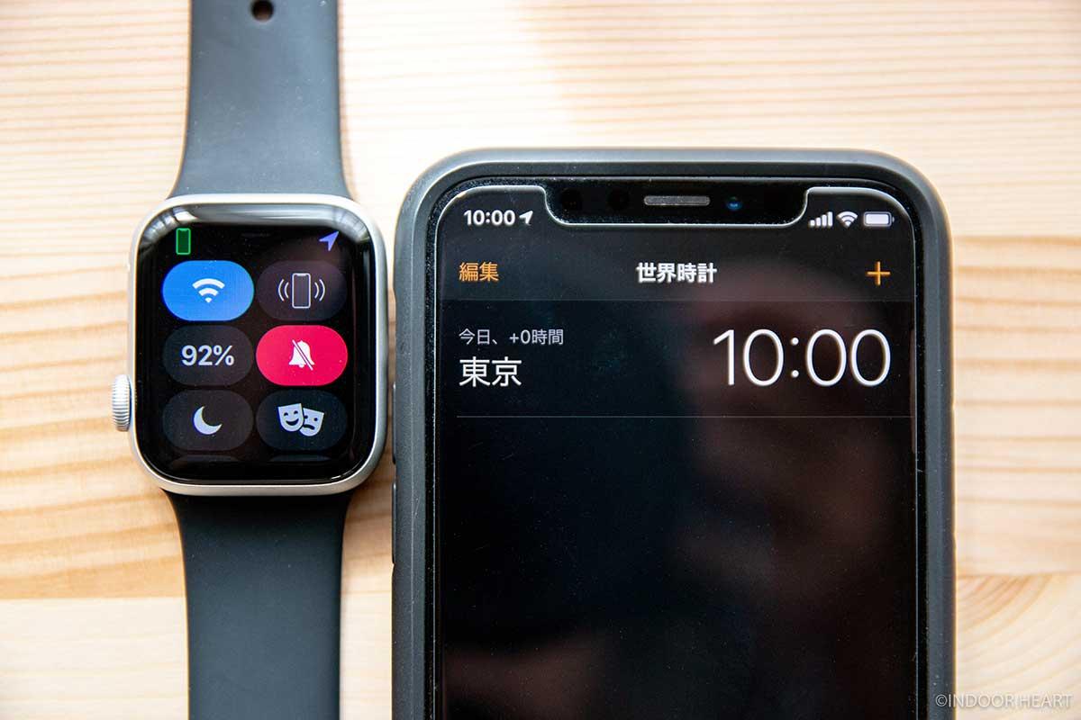 Apple Watchのバッテリー残量の検証