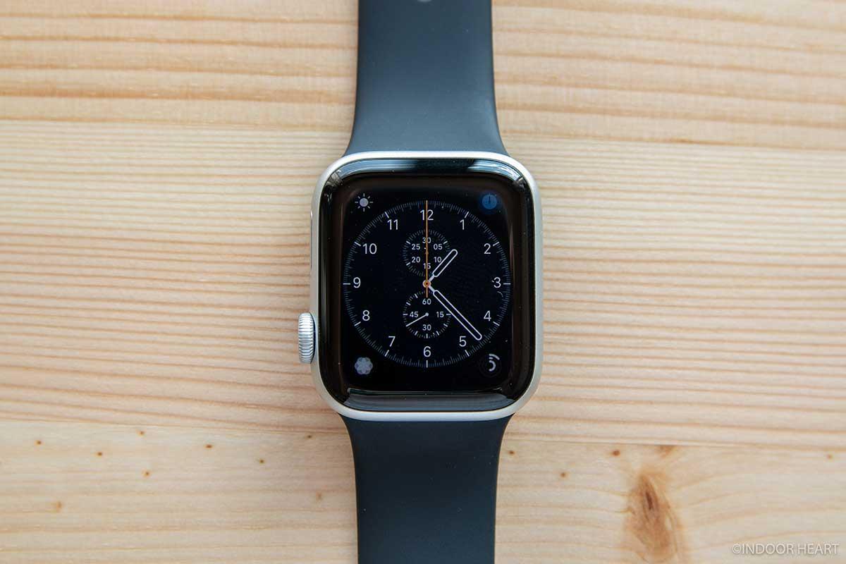 Apple Watchのクロノグラフ