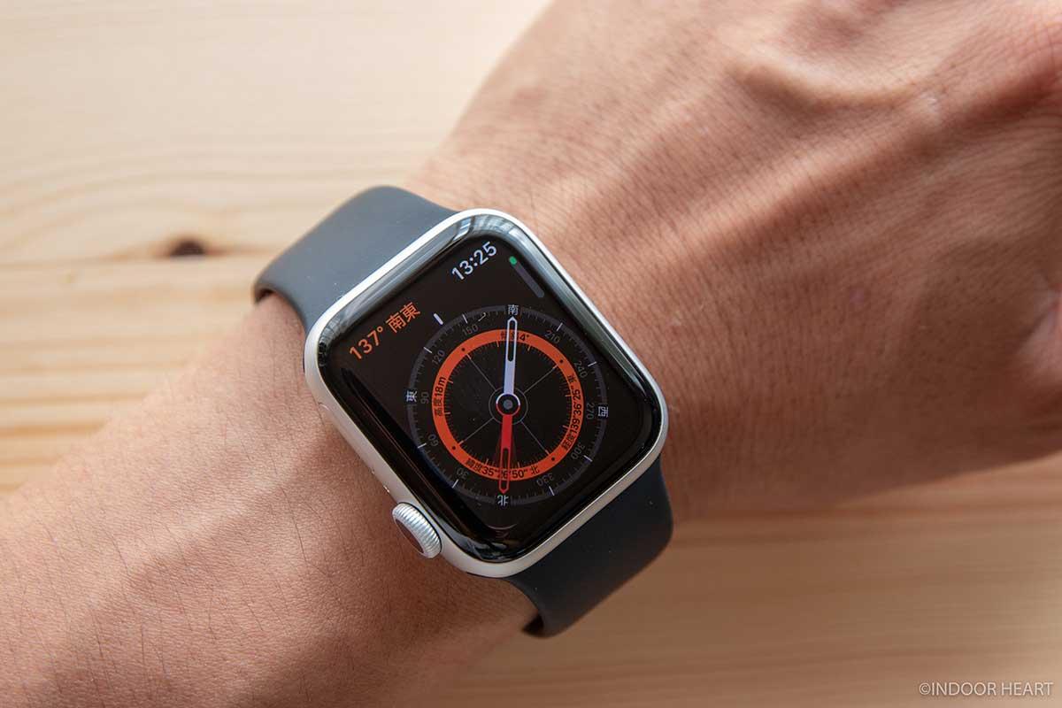 Apple Watchのコンパス