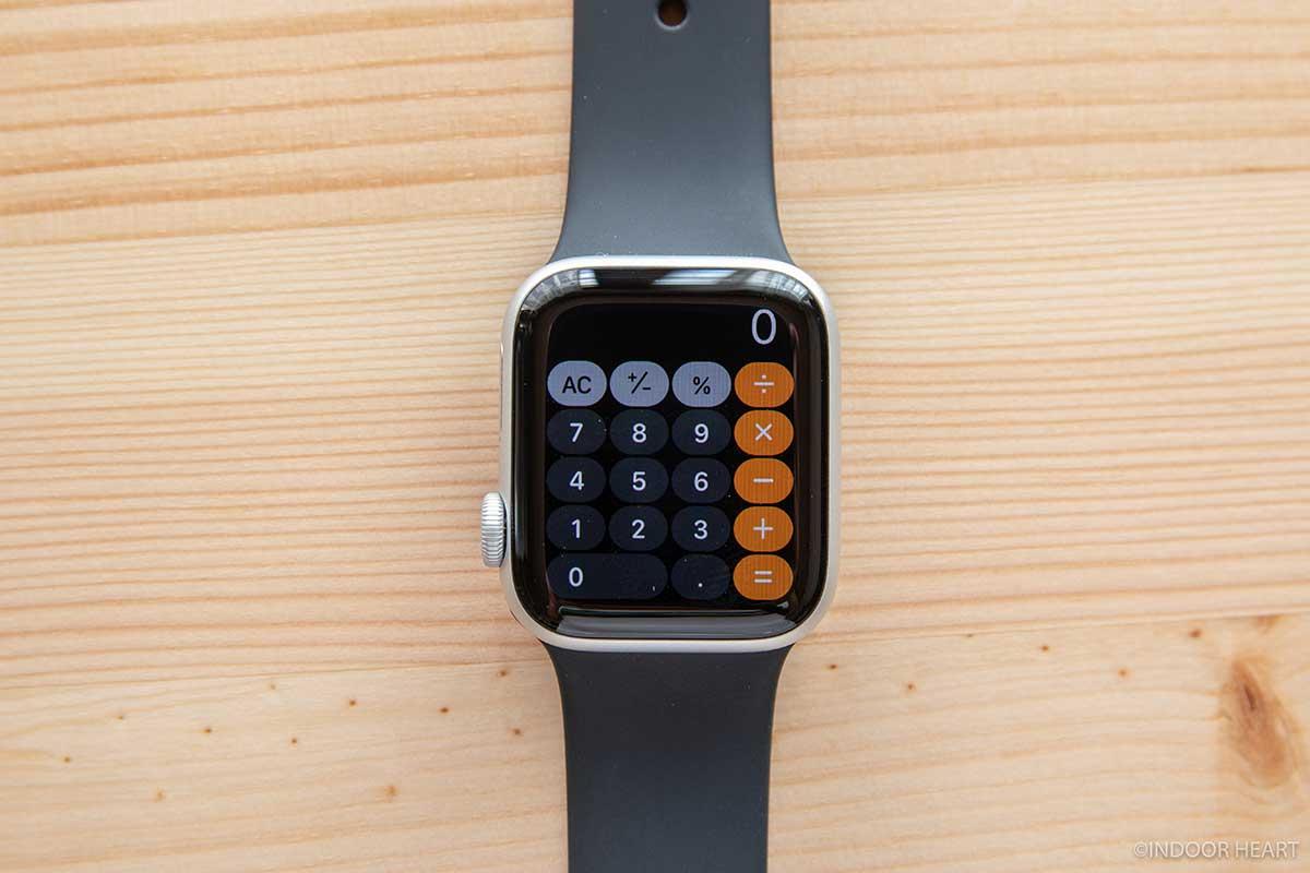 Apple Watchの電卓アプリ