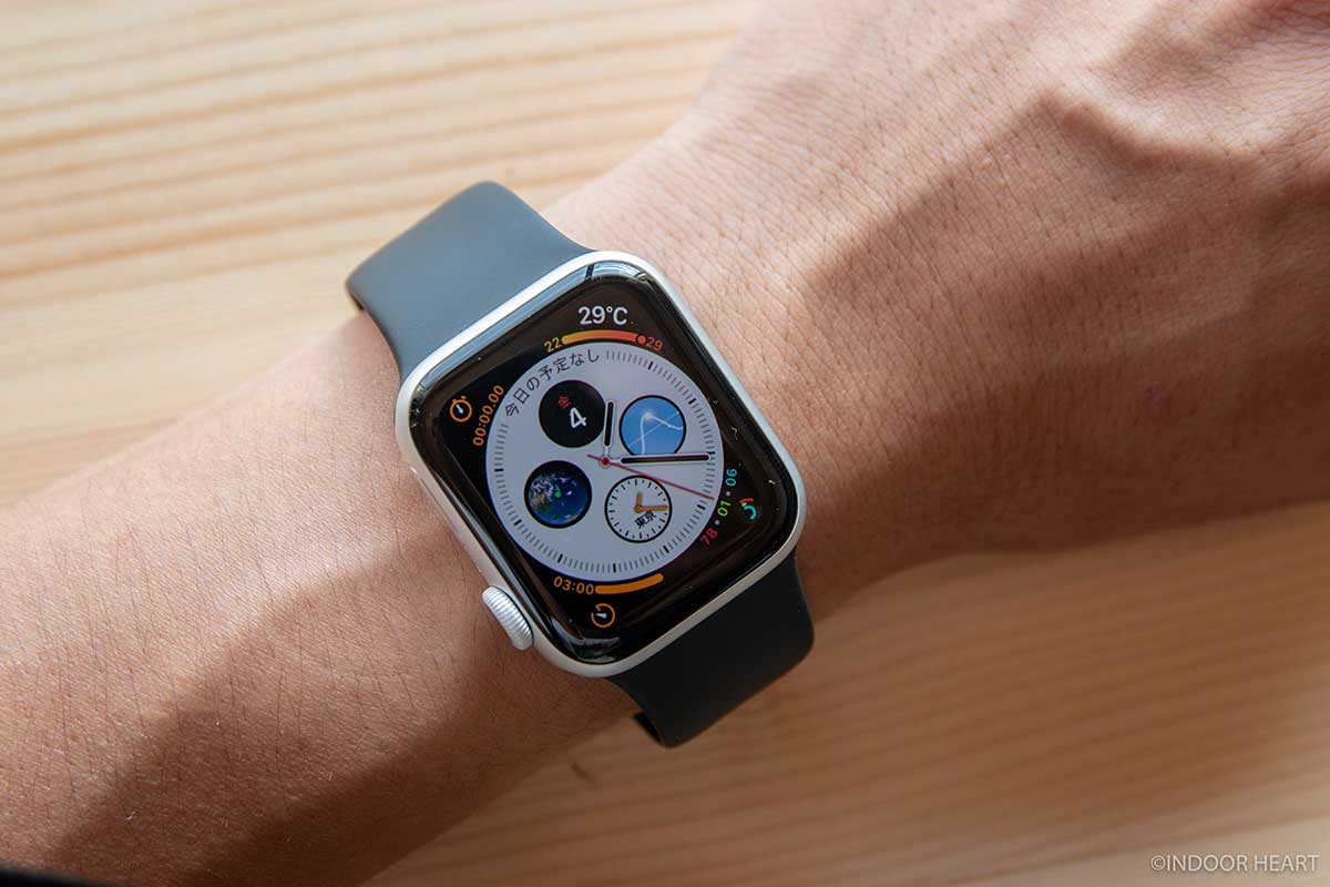 Apple Watchの常時表示ディスプレイ