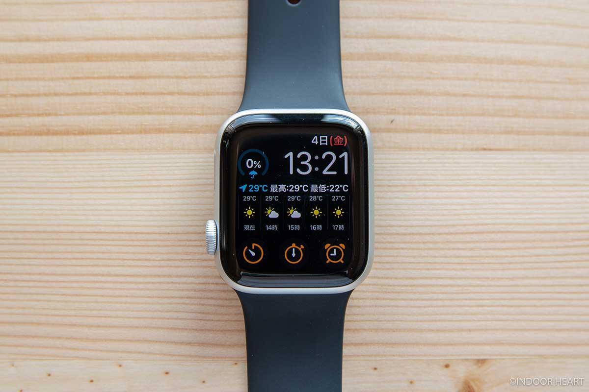 Apple Watchのインフォグラフモジュラー