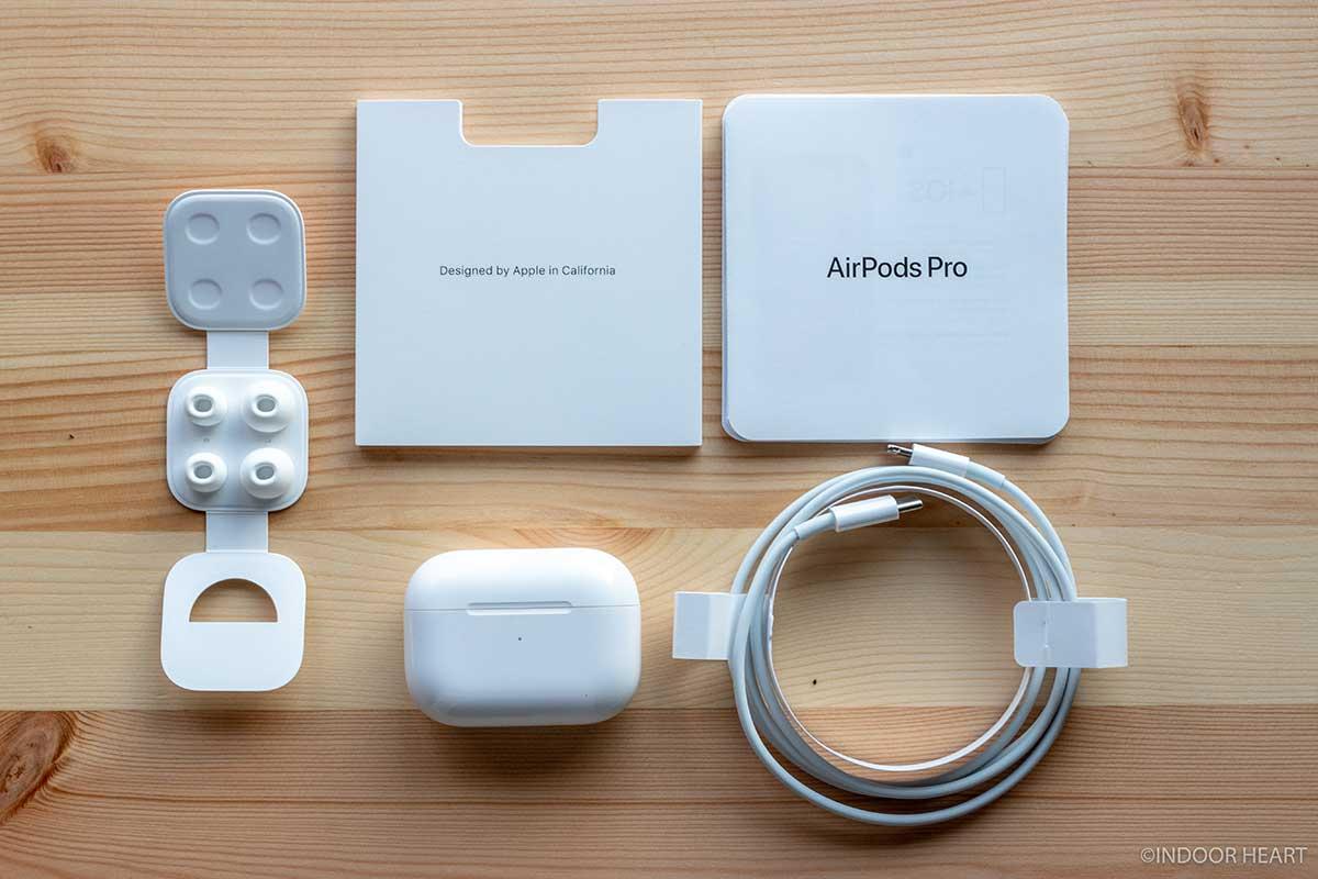 AirPods Proの付属品