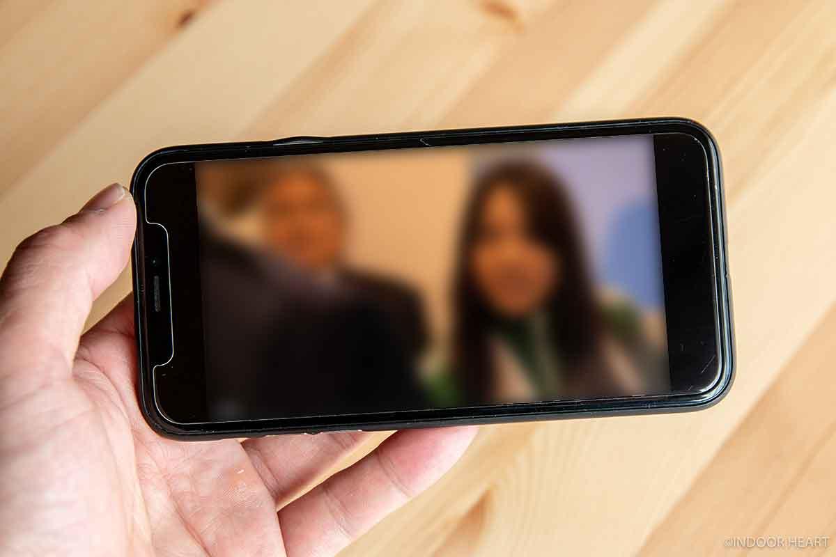 Huluのヨコ画面視聴