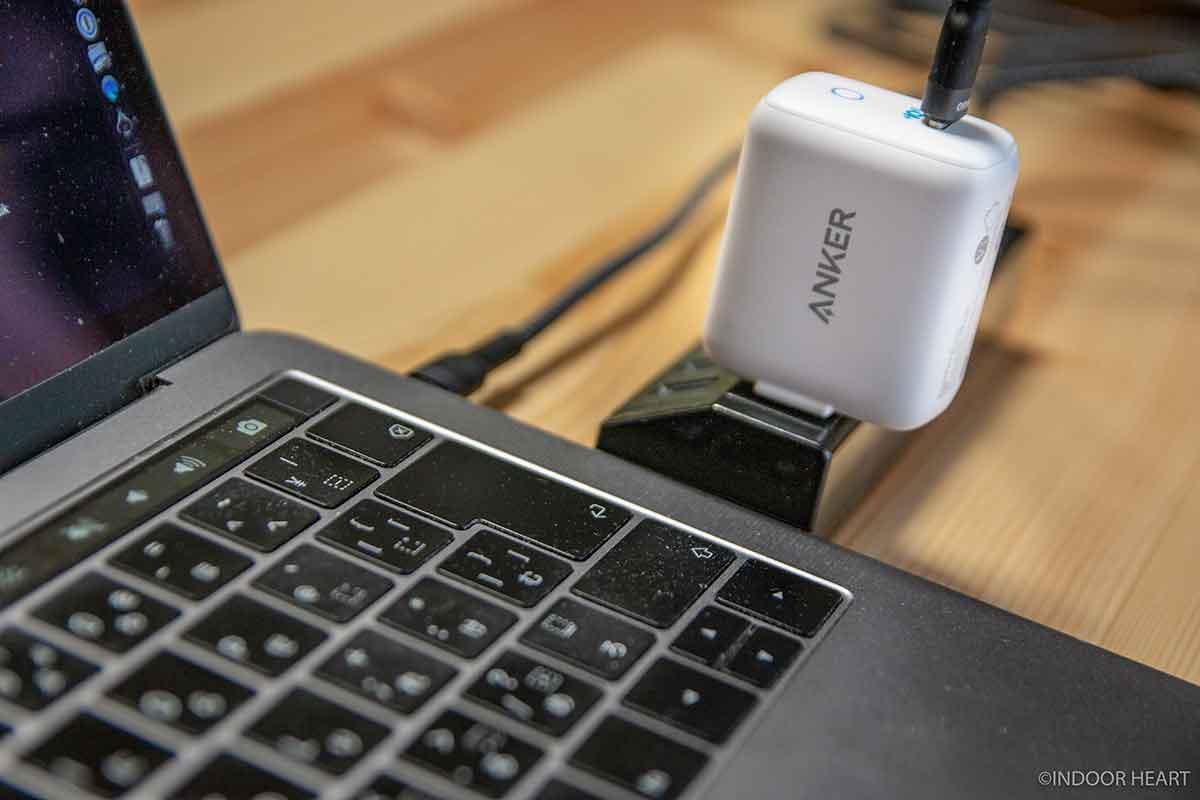 Anker PowerPort III miniとMacBookPro13インチ