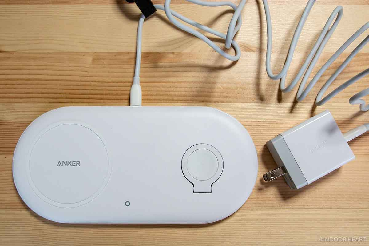 Anker PowerWave+ Pad with Watch Holderをセットアップ