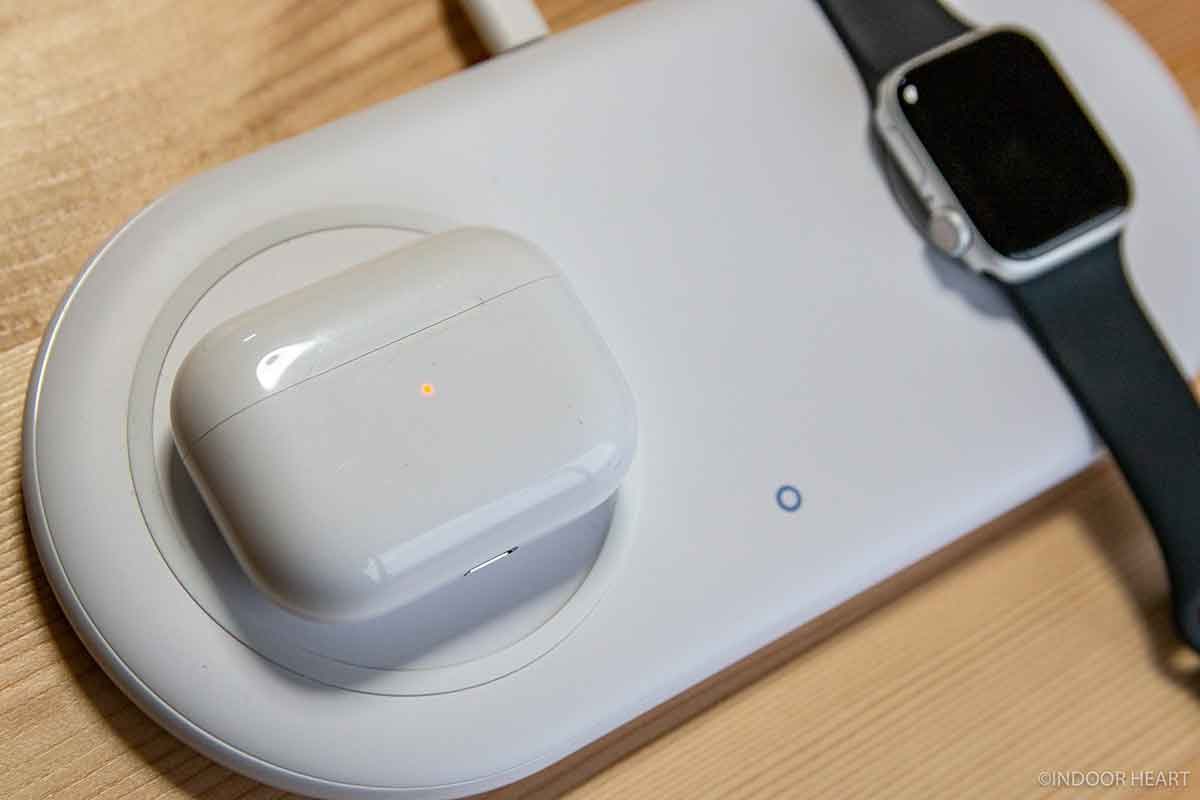 AirPods Proをワイヤレス充電