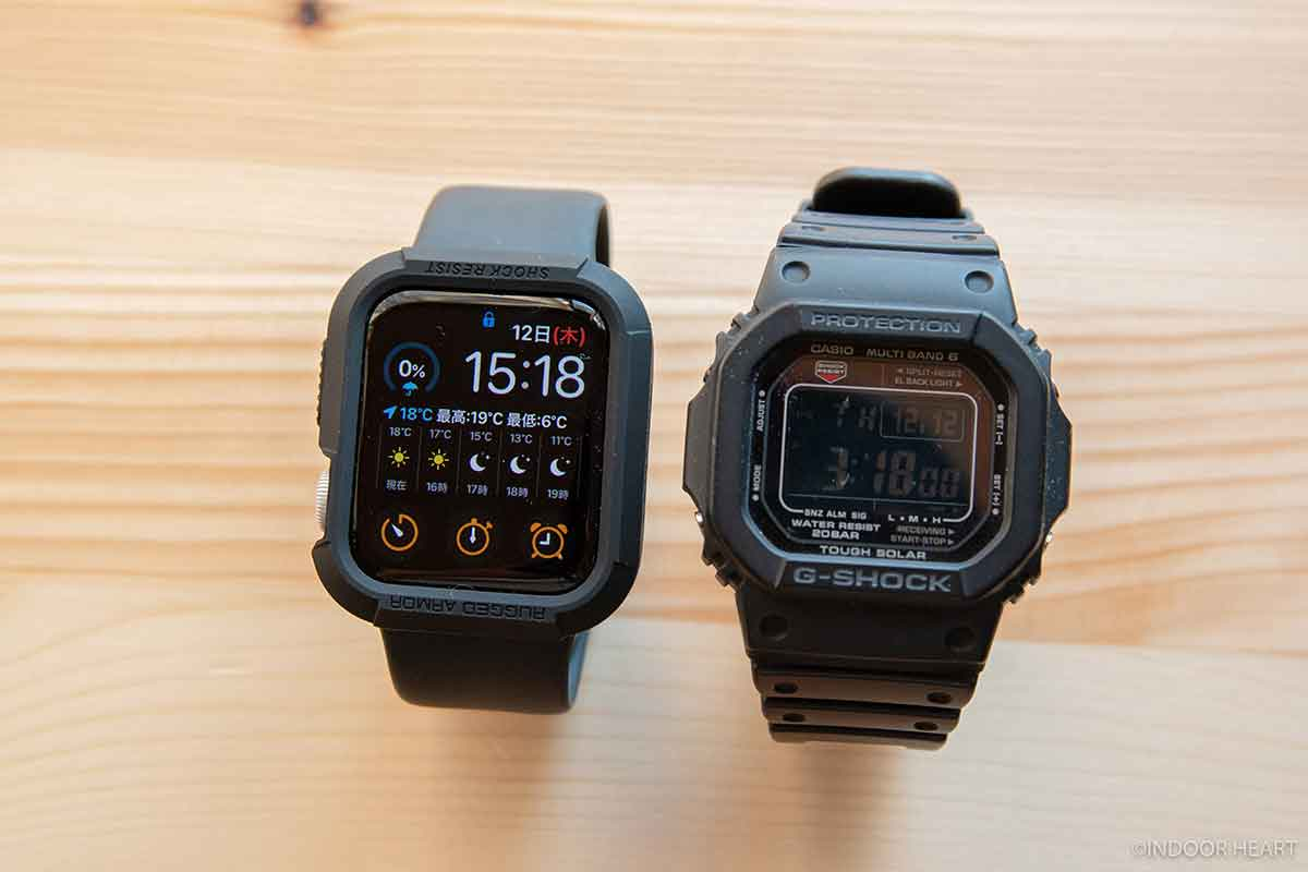 Apple WatchとG-SHOCK