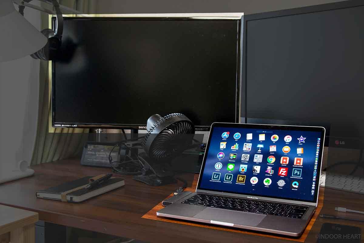MacBookProと外部ディスプレイ