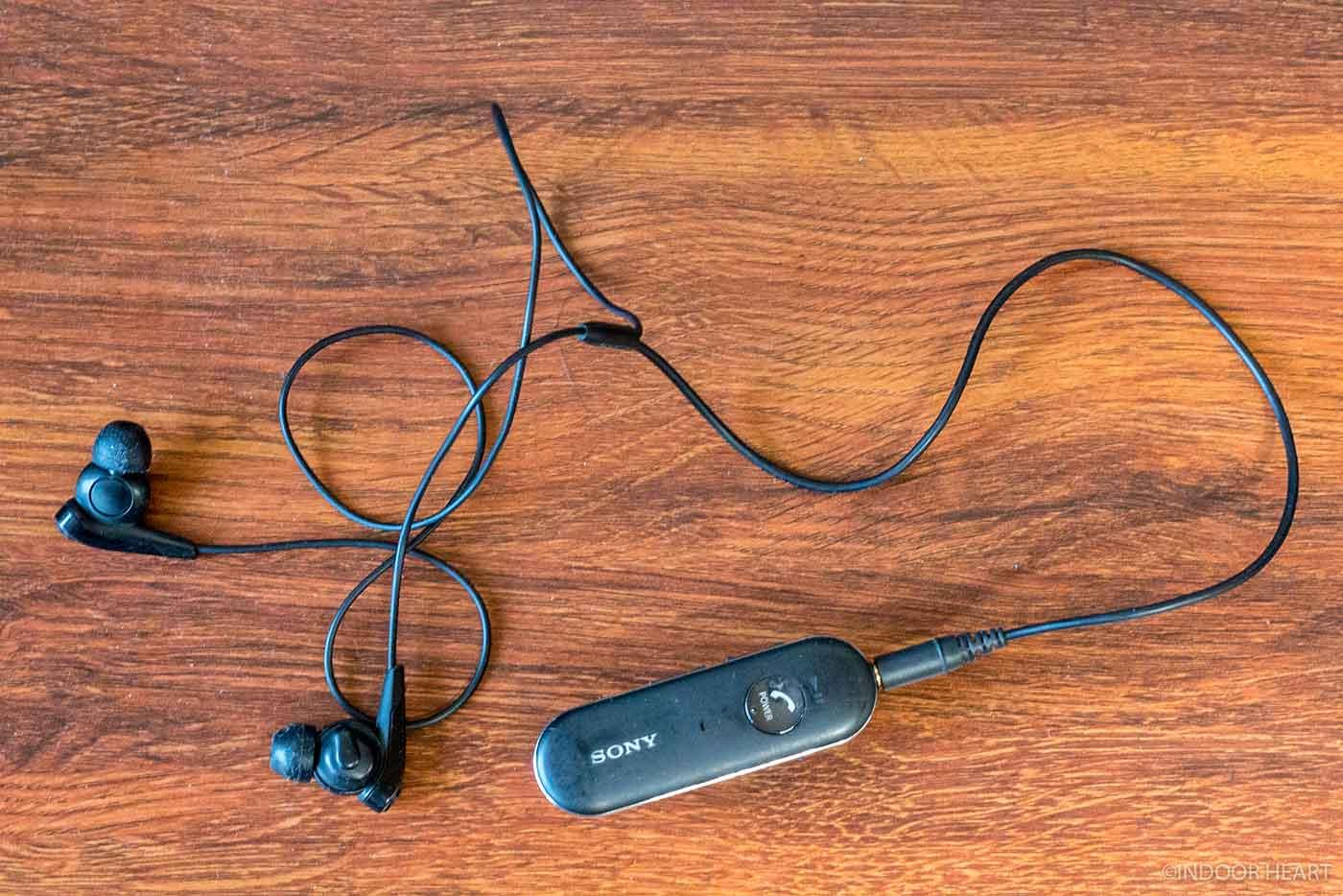 ソニーのノイズキャンセリングイヤホン「MDR-EX31BN」
