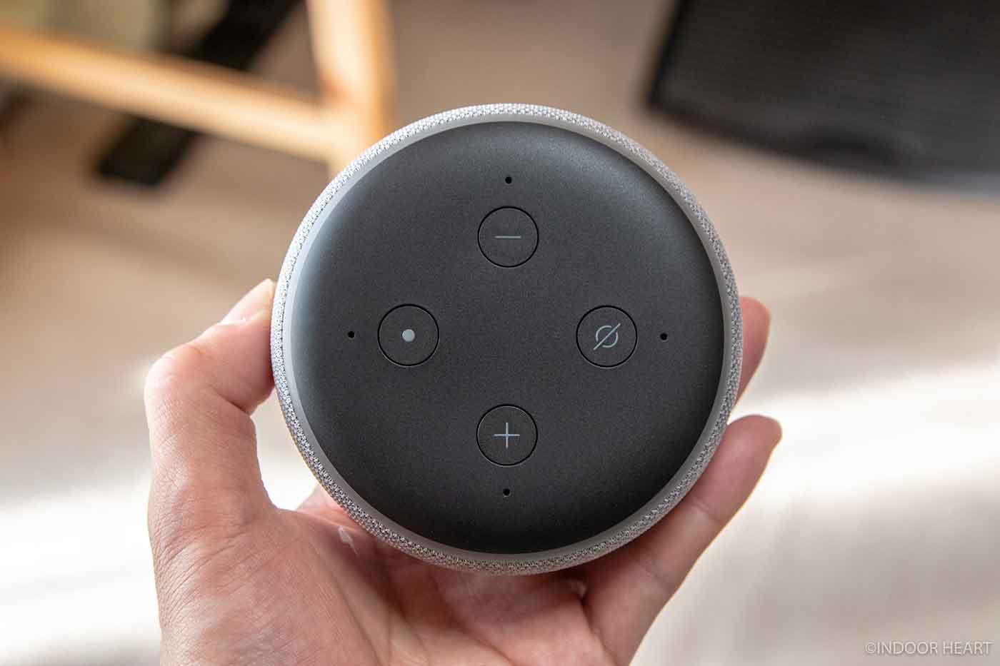 Echo Dotの物理ボタン