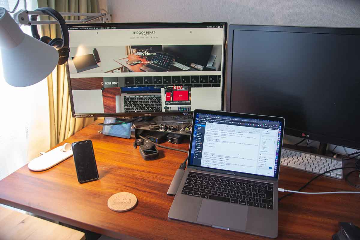 MacBook Proと外部ディスプレイ