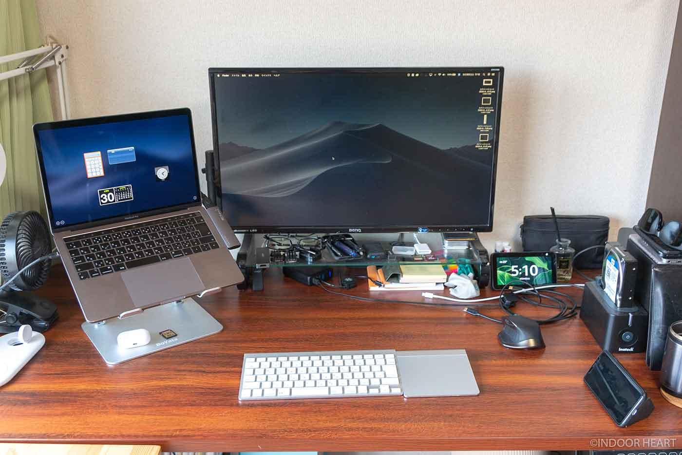 Macを使った仕事環境