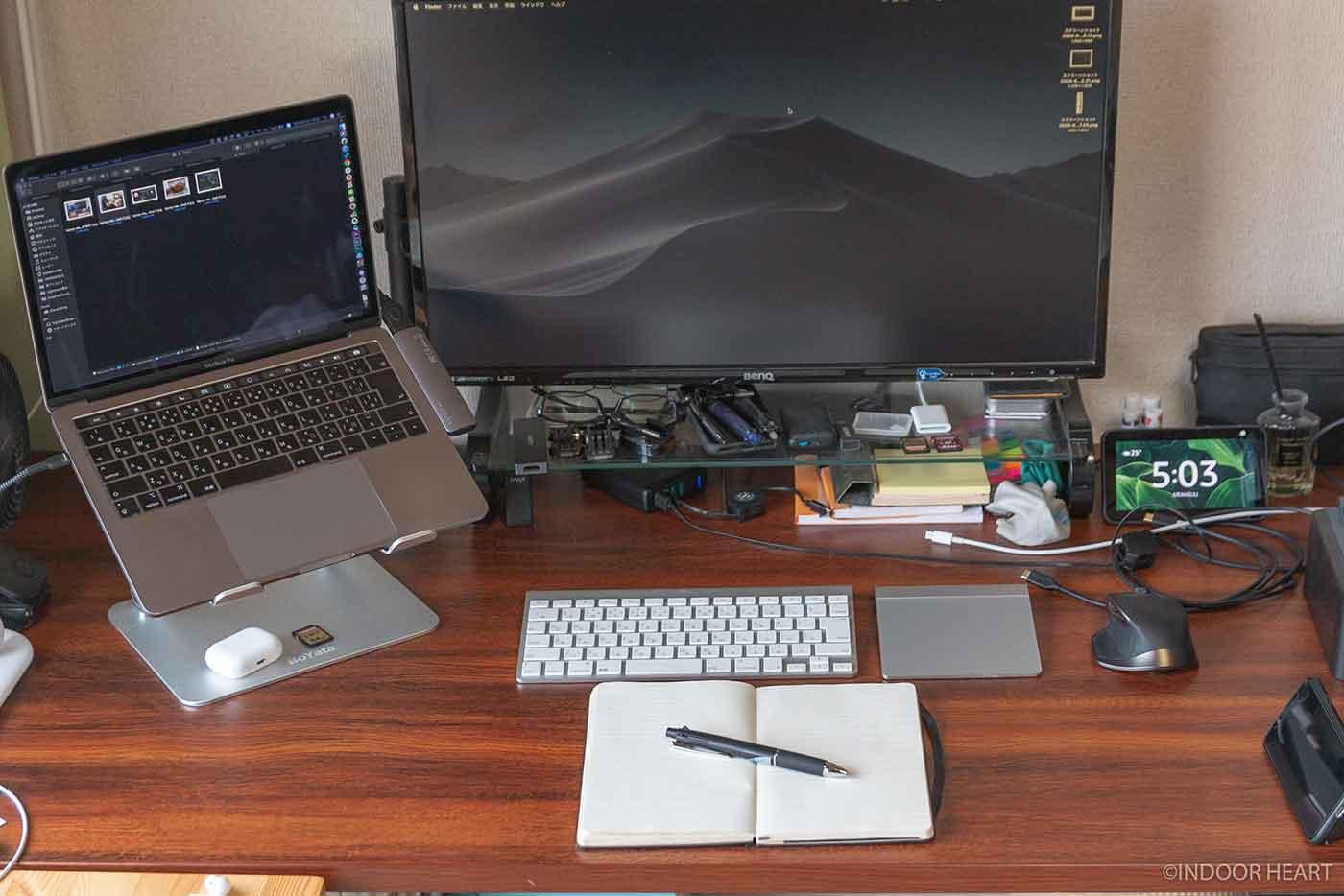 作業机の広さ