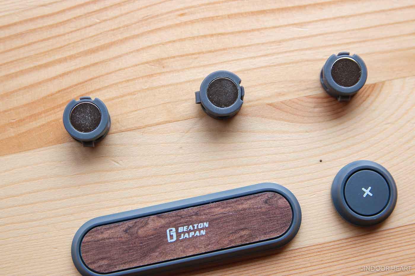 ケーブルホルダーの磁石