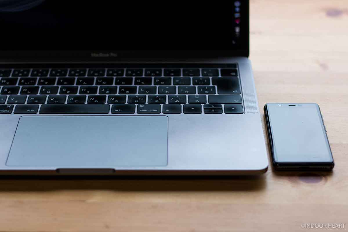 Rakuten MiniでMacBookをテザリング