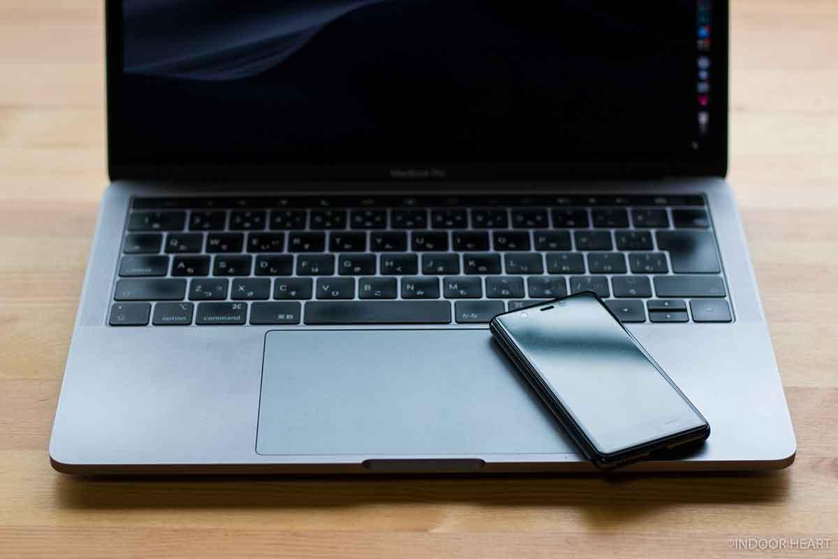Rakuten MiniでMacBookをテザリングする