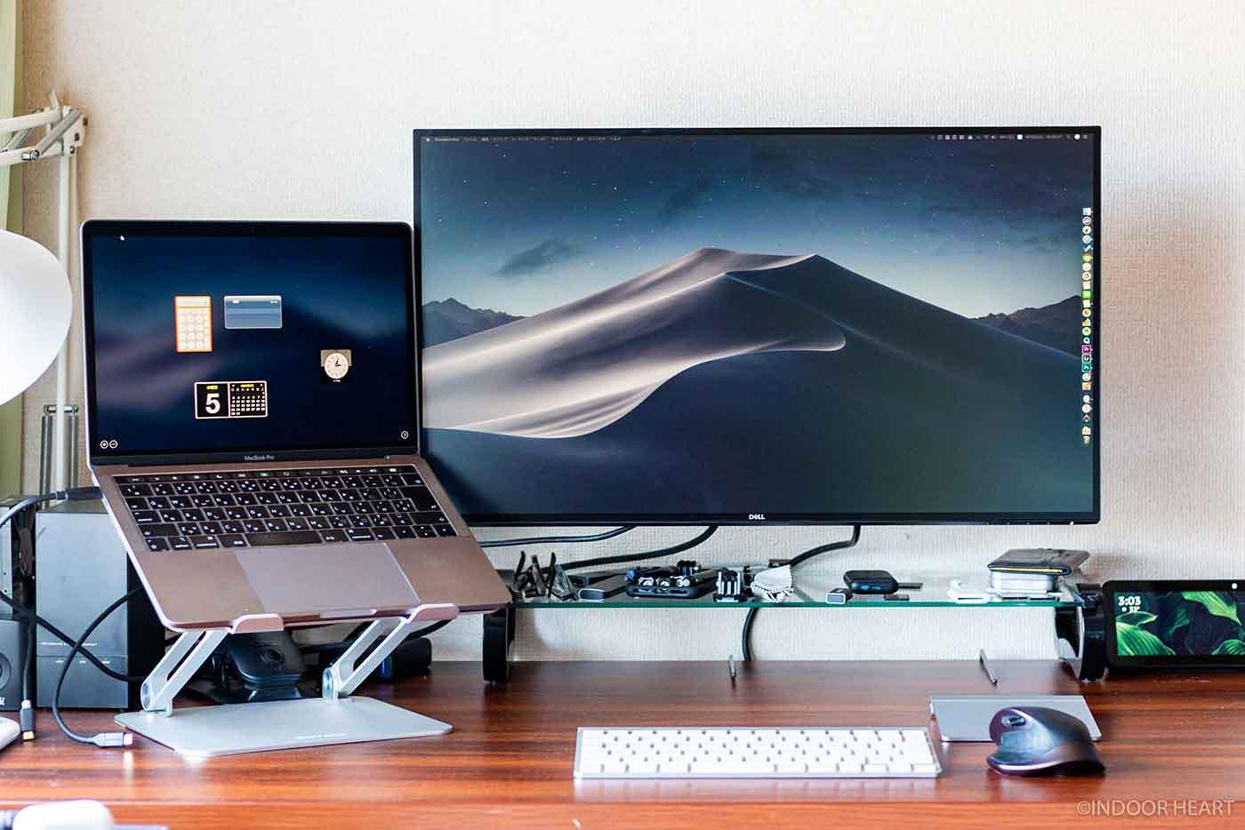 MacBookと4Kモニター