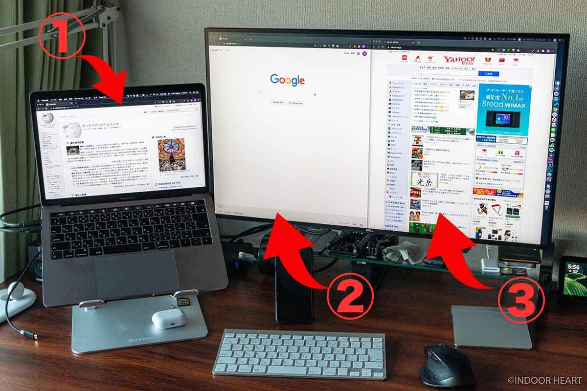 MacBookと4Kモニターの作業環境