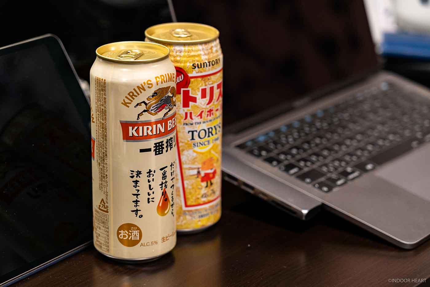 アルコールとMacBook