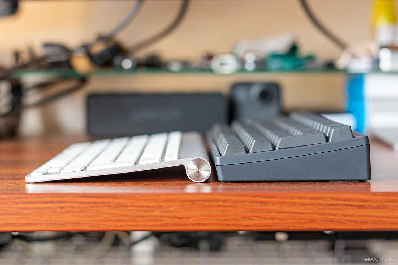 HHKBとマジックキーボード